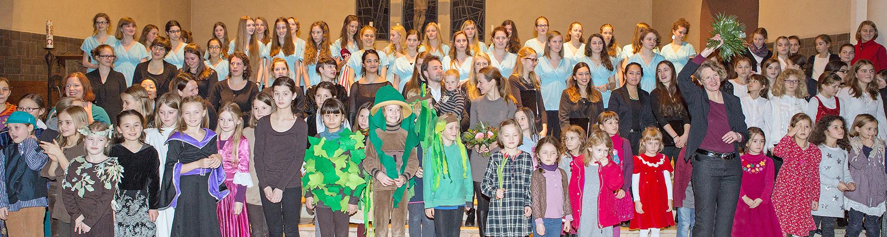 Weihnachtskonzert des Berliner Mädchenchores 2014