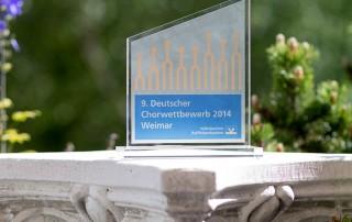 Chorwettbewerb Weimar 2014 Sonderpreis Stele, Berliner Mädchenchor