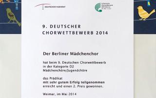 Flyer Die Nachtigall (2011)