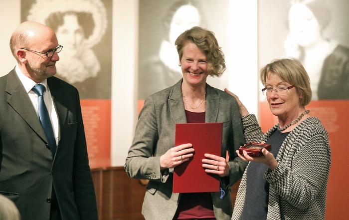 Geschwister-Mendelssohn-Medaille für Sabine Wüsthoff