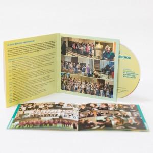 Jubiläums-CD: 30 Jahre Berliner Mädchenchor (Cover + Booklet offen)