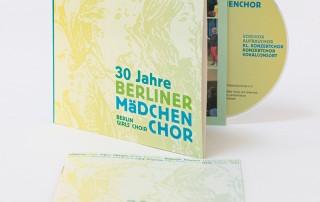 Jubiläums-CD: 30 Jahre Berliner Mädchenchor (Cover)