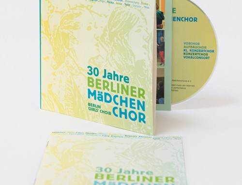 CD »30 years Berlin Girls Choir« in our shop