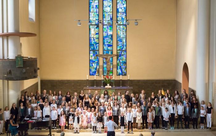 Jubiläumsfest 30 Jahre BMC – Festandacht: Dona nobis pacem | Vorchor, Aufbauchor, Kleiner Konzertchor, Konzertchor, Vokalconsort