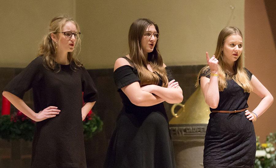 Berliner Mädchenchor Solokonzert Trio