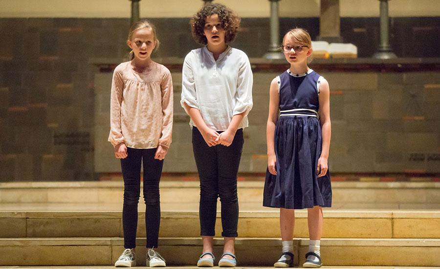 Solokonzert der Chormädchen | Berliner Mädchenchor - Chorschule