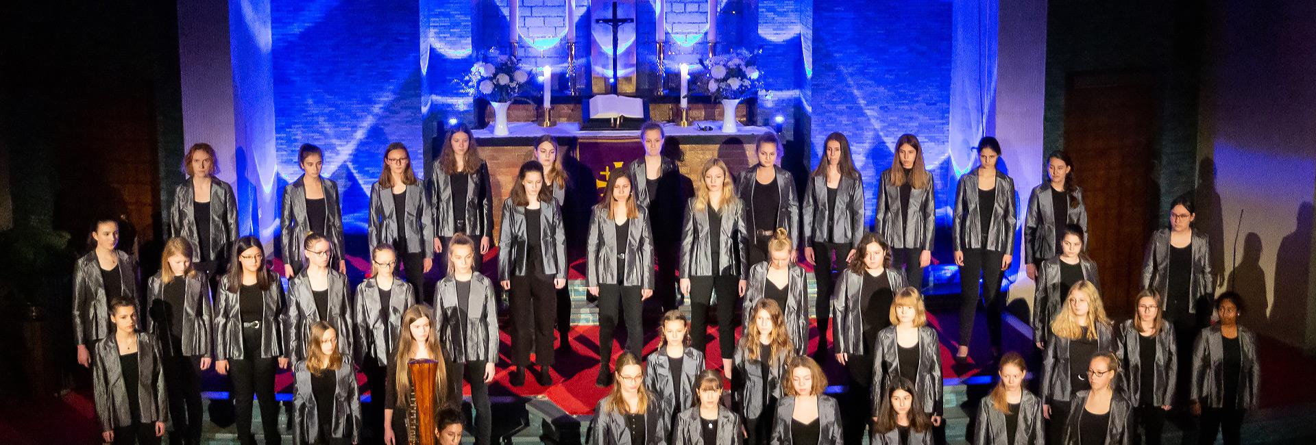 Berliner Mädchenchor – Konzertchor, weihnachtliches Chorkonzert, Gustav-Adolf-Kirche