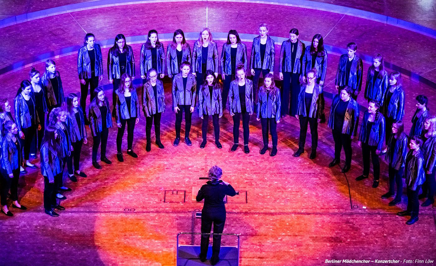 Berliner Mädchenchor – Konzertchor, Konzerthaus Dortmund, Foto: Finn Löw