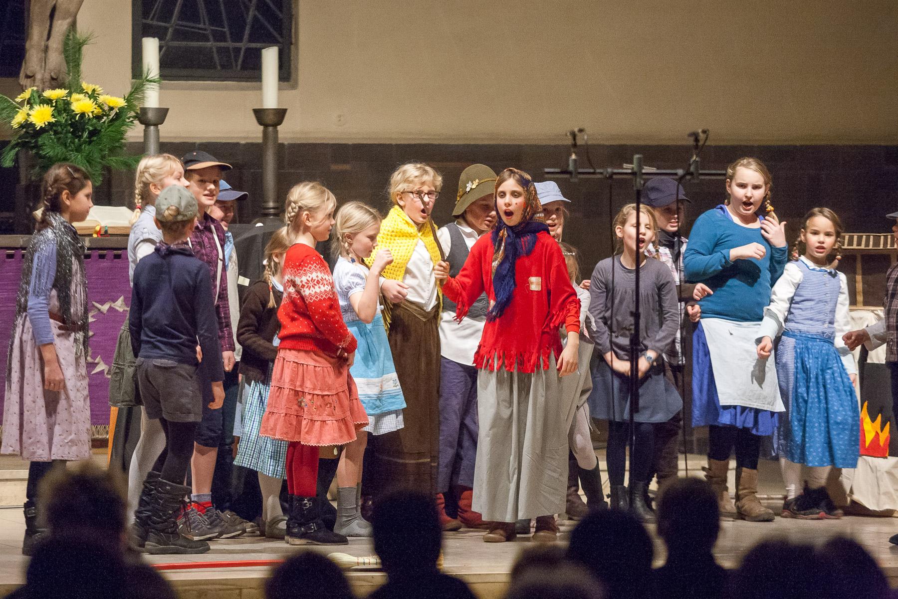 Berliner Mädchenchor Aufbauchor: Hänsel und Gretel