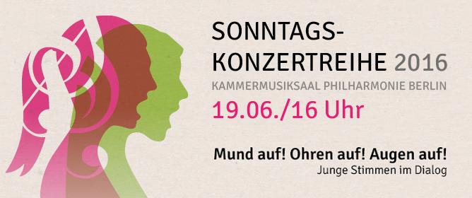 Berliner Mädchenchor: Sonntagskonzert in der Philharmonie 2016